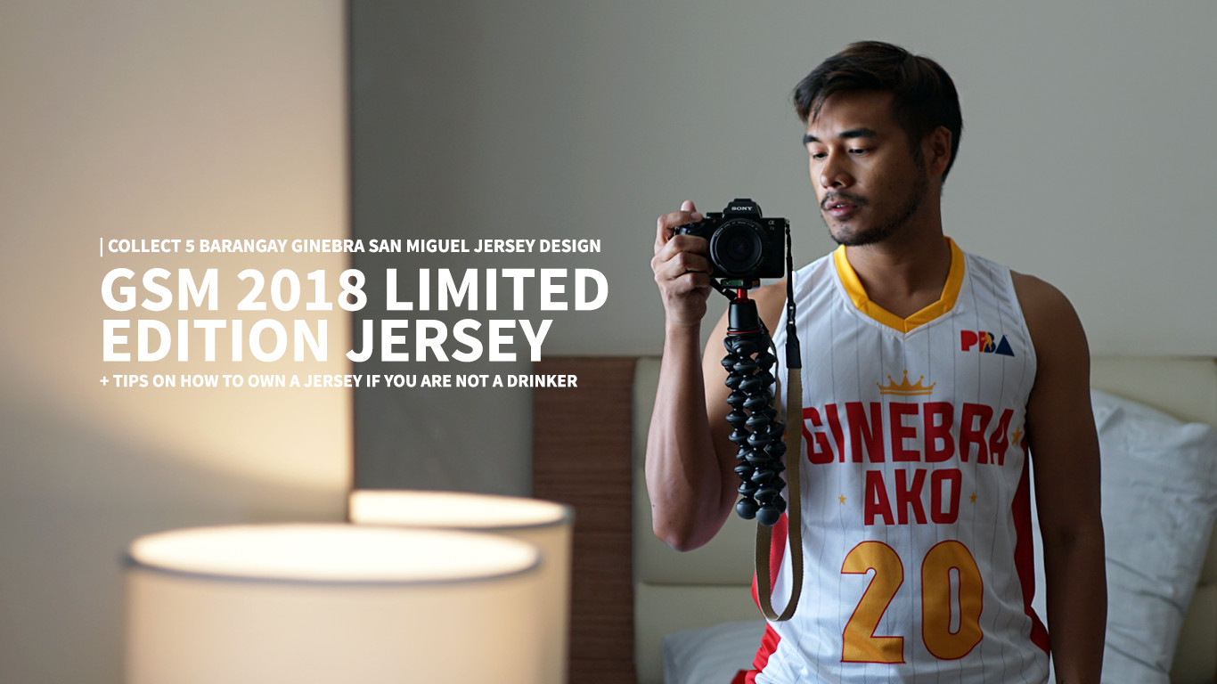 How you can avail GINEBRA AKO 2018 limited edition Jersey