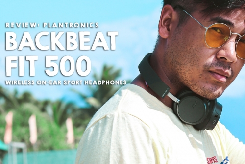 Review: Backbeat Fit 500 by Plantronics