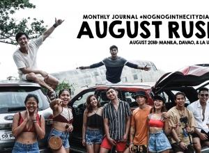 August 2018 Journal #NognogintheCityDiaries