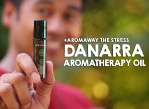 #AromaAway the Stress with Danarra Aromatherapy Oil in 6 refreshing fragrances