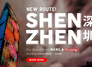 AirAsia new Manila to Shenzhen route, China + All-in promo fares from as low as P1,990*