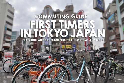 Commuting Guide for first time Visitors in Tokyo, Japan