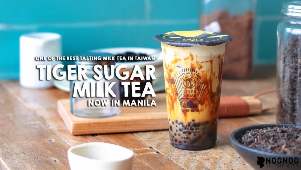 Tawain's Tiger Sugar Milk Tea Now in Manila