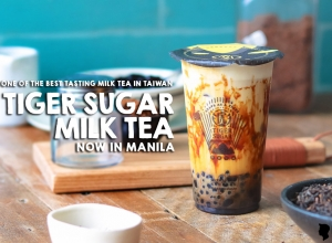 Tawain's Tiger Sugar Milk Tea Now in Manila
