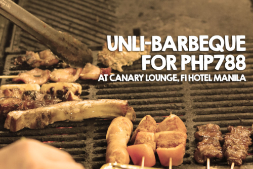 Barbeque Nights at Canary Lounge, F1 Hotel Manila