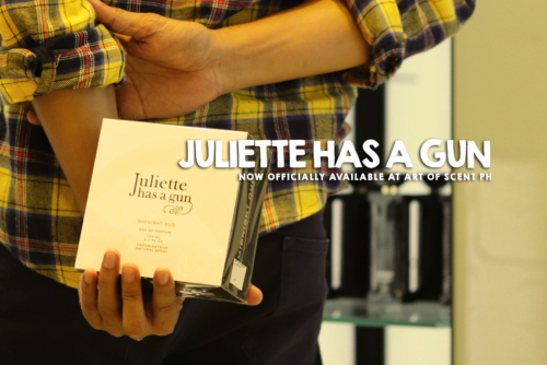 Juliette has a Gun – 'Not a Perfume' Now Available at Art of Scent, Philippines