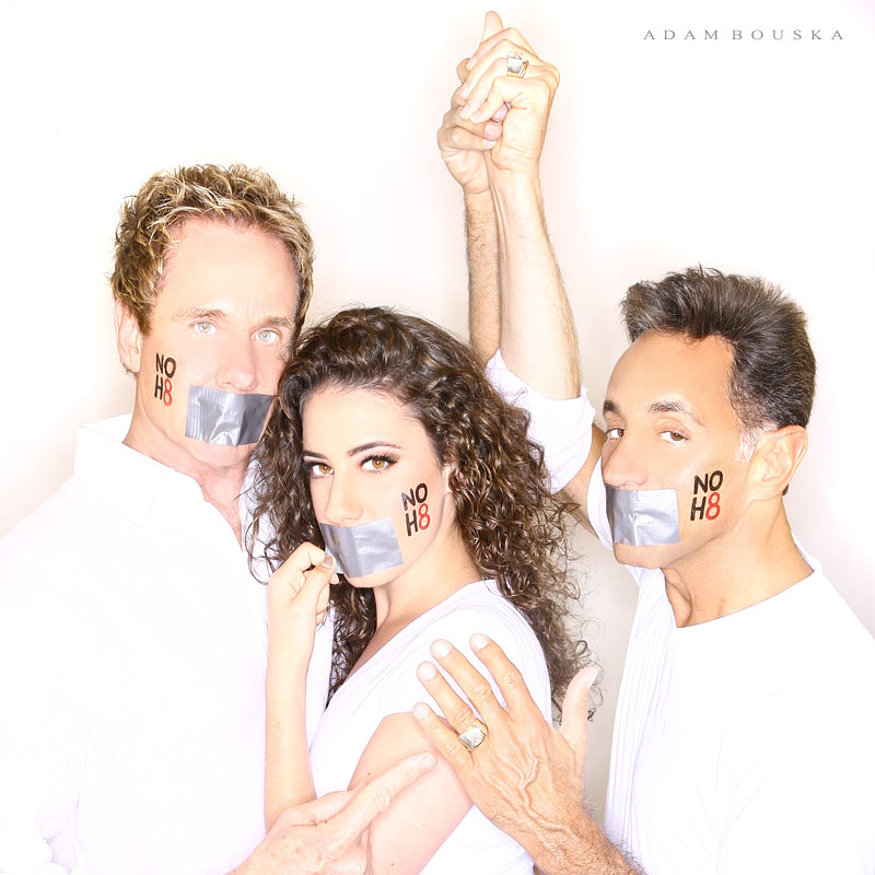 Like This Page to Raise Money for the NoH8 Campaign