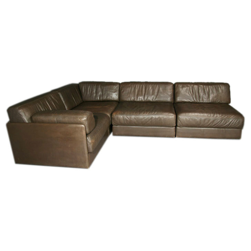 de sede sleeper sofa danish leather sofas uk noho modern sold items brown sectional by