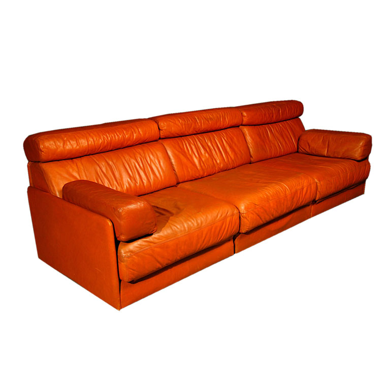 de sede sleeper sofa italsofa white leather noho modern sold items a modular by