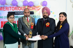 Additional Deputy Commissioner Gurmeet Singh Milani and District Education Officer Nek Singh attended the function as chief guest.