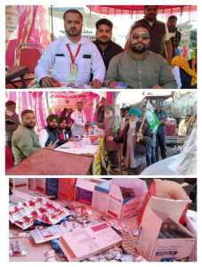 Singhu, Tikri and Kundli Border including various border medical camps … Dr. Mithu Mohammad