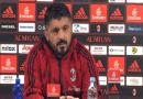 """Lazio-Milan, Gattuso: """"Sarà una partita difficile, ma ce la giocheremo"""""""