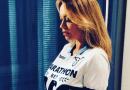 """Anna Falchi: """" La Lazio è una fede e il derby quest'anno è stato davvero speciale!"""""""