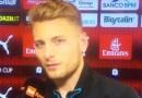 """Milan-Lazio, Immobile: """"Sono felice. Il gol? Si preoccupano più gli altri per me che io per me stesso…"""""""