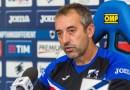 """Sampdoria-Lazio, Giampaolo: """"Mi aspetto una grande Lazio, è una squadra da quarto posto"""""""