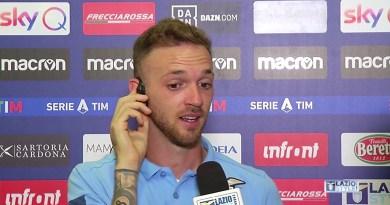 """Lazio-Roma, Lazzari: """"Il derby non è una partita come le altre. Sono felice di aver dato una mano alla squadra"""""""