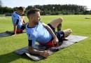 Lazio: allenamento di rifinitura alla vigilia della sfida con la Juve. Emergenza sulle fasce
