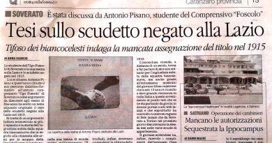 """Scudetto 1915, il titolo """"negato"""" sbarca nelle scuole medie italiane."""