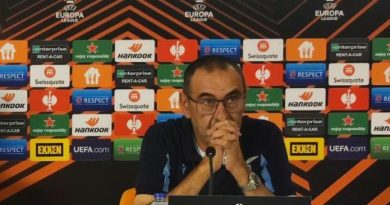"""Verona – Lazio, Sarri in conferenza stampa: """"Stiamo valutando di andare in ritiro…"""""""