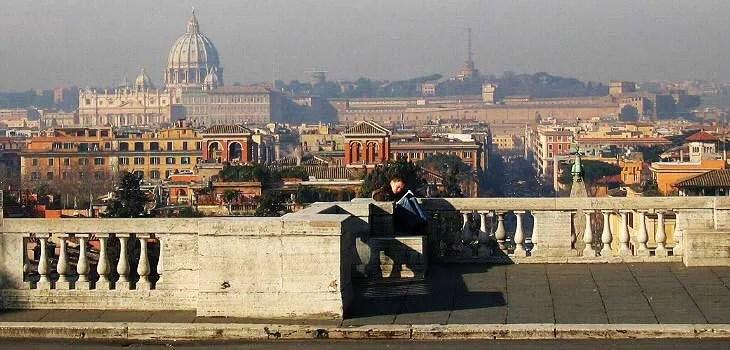 I punti panoramici di Roma