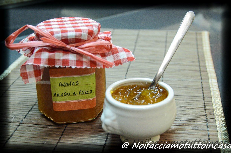 Marmellata di Ananas, Pesca e Mango
