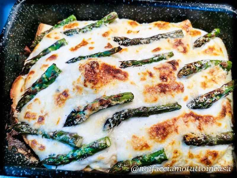 Crespelle senza glutine agli asparagi