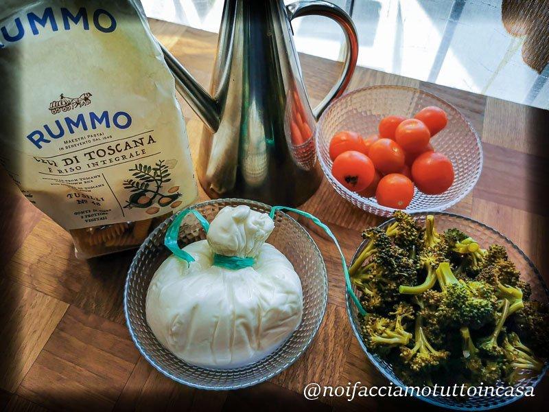 Pasta Senza Glutine Broccoli e Burrata