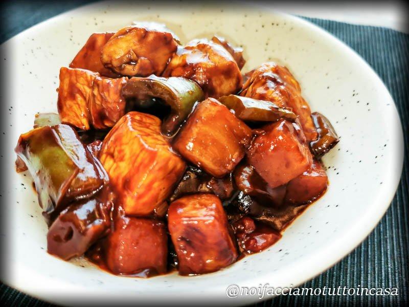 pollo in agrodolce senza frittura