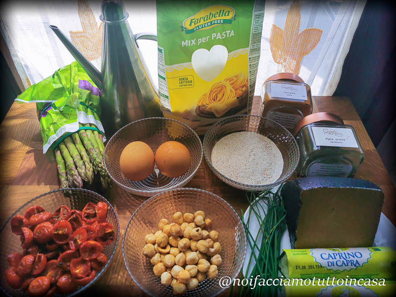Ravioli Asparagi e Pesto Rosso