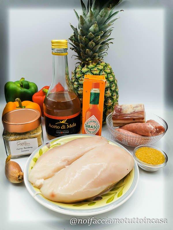 spiedini di pollo agrodolci golosi