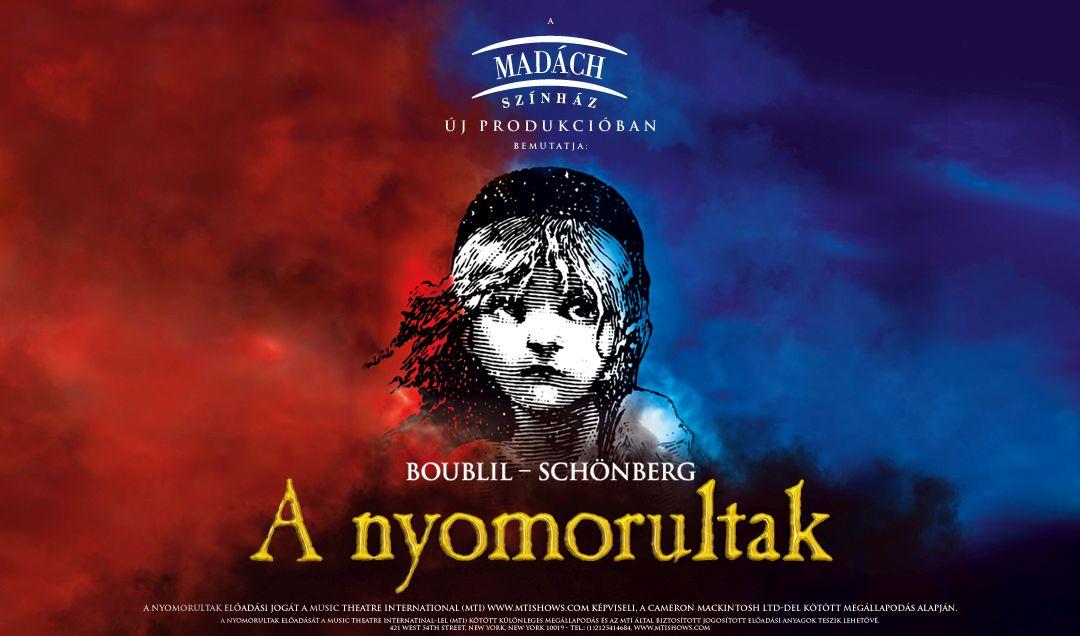 Színdarabajánló: Les Misérables - A nyomorultak - Madách Színház