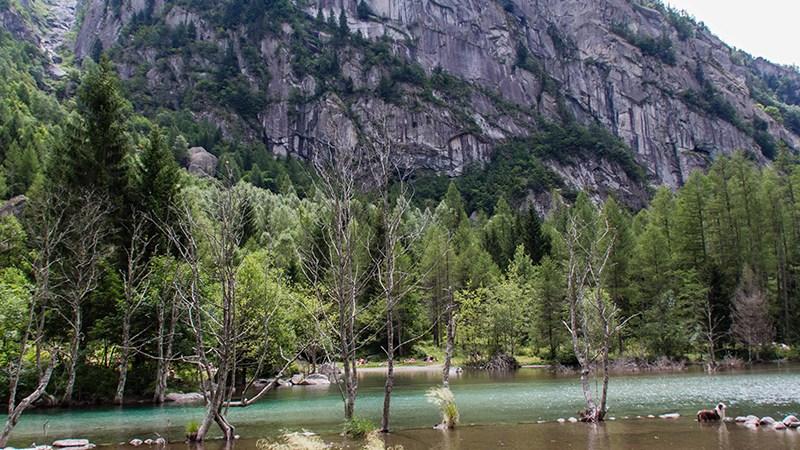 """Naturschutzgebiet """"Val di Mello"""""""