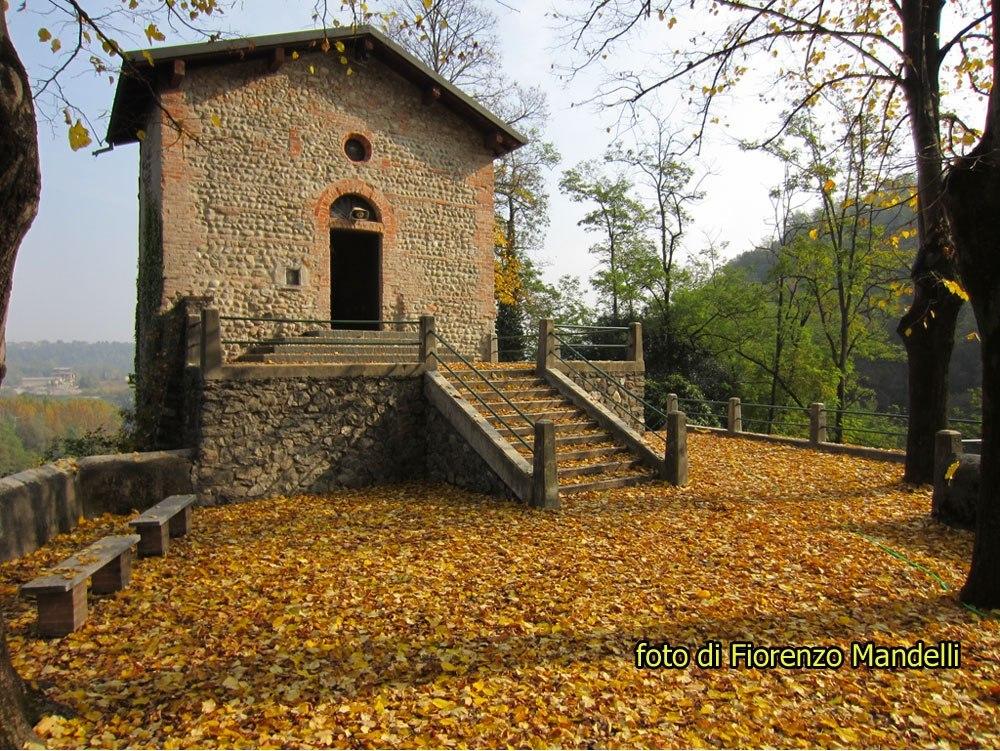 Le rapide dell'Adda: Il Custode della Chiesetta di Santa Maria della Rocchetta