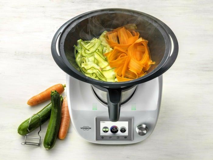 Svezzamento: Crema di verdure preparata con il Bimby