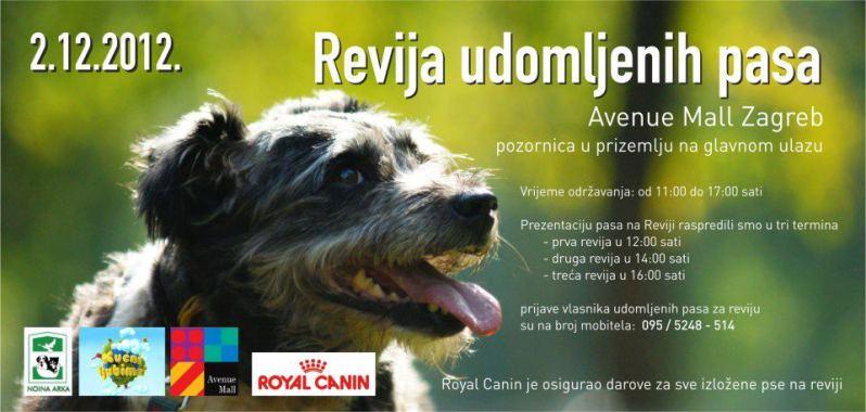 Revija udomljenih pasa