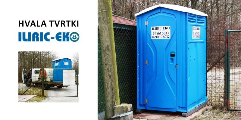 """Tvrtka """"Ilirić-Eko"""" besplatno nam je ustupila wc!"""