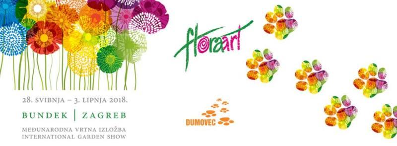 Floraart - revija udomljenih pasa u subotu, 2. lipnja u 11 sati