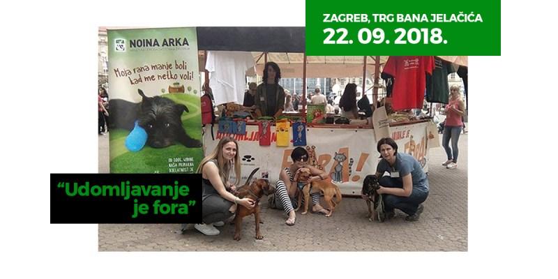 Zagreb, 22. rujna 2018. - Udomljavanje je fora