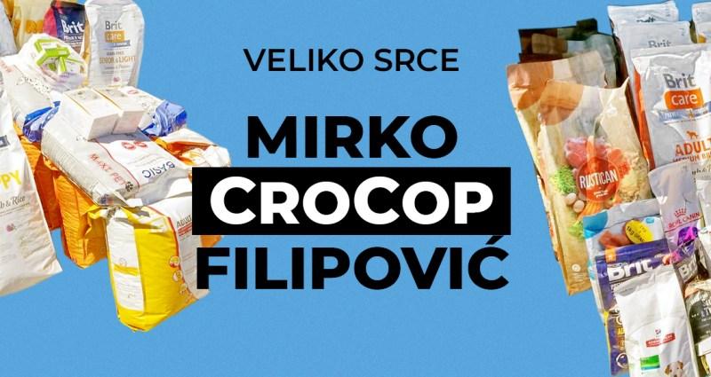Veliko srce: Mirko CroCop Filipović!