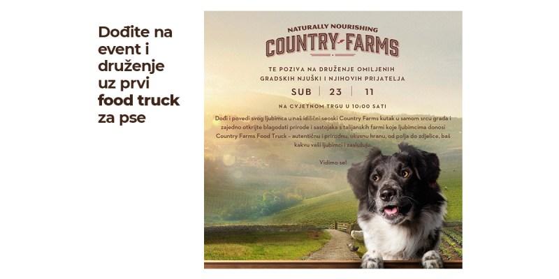 Dođite na event i druženje uz prvi food truck za pse