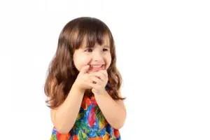 Bambina tre anni