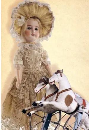 museo-giocattolo-furga-canneto-sull'oglio-bambola-e-cavallo