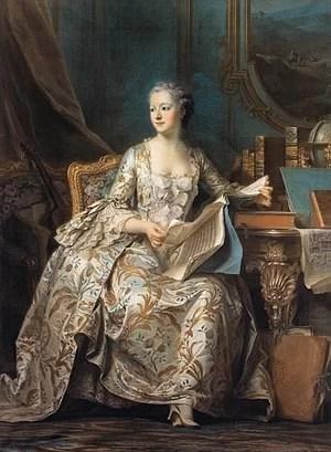Marquise de Pompadour muse de la bague marguerite