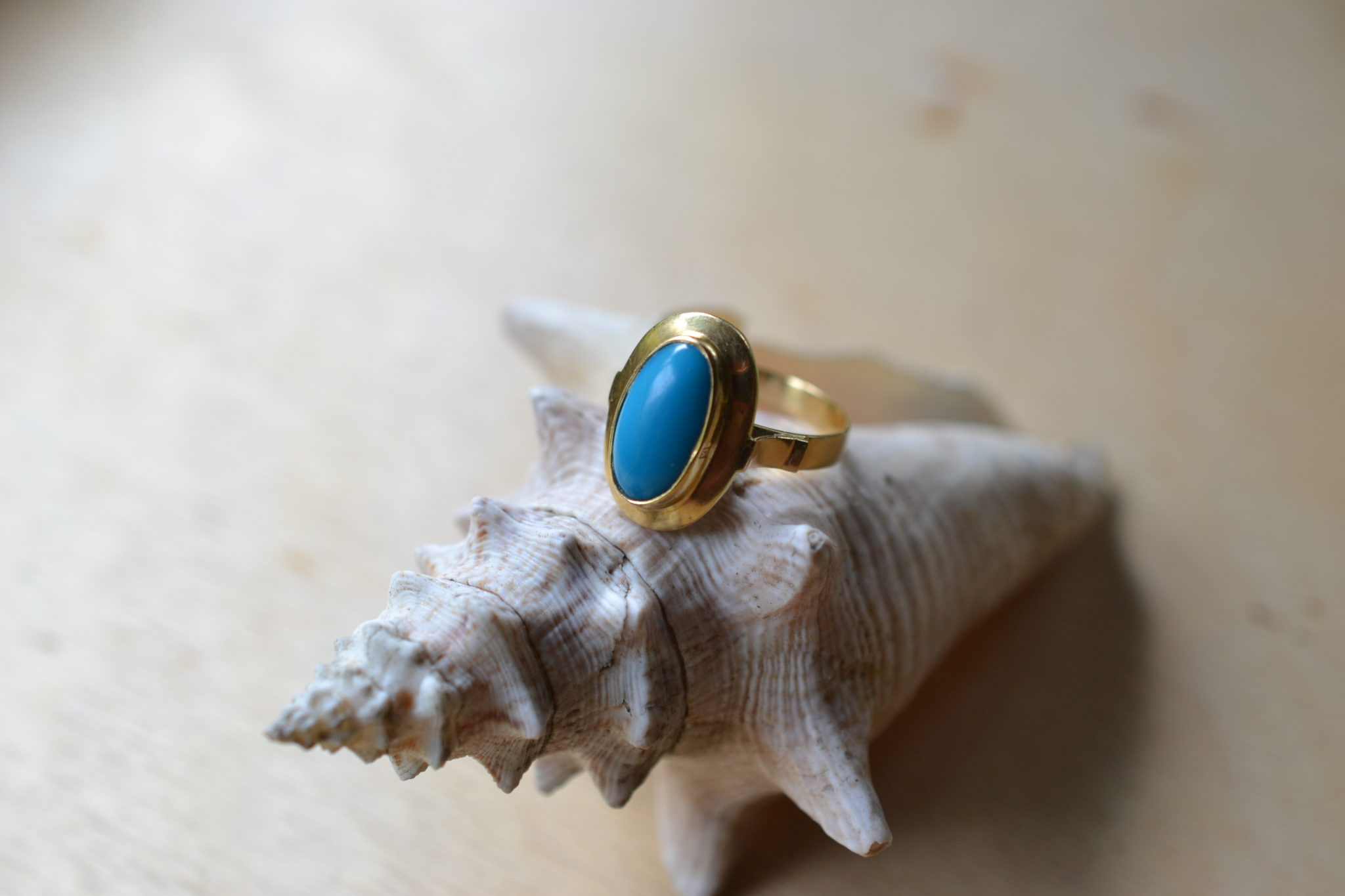 Bague Style Turquoise