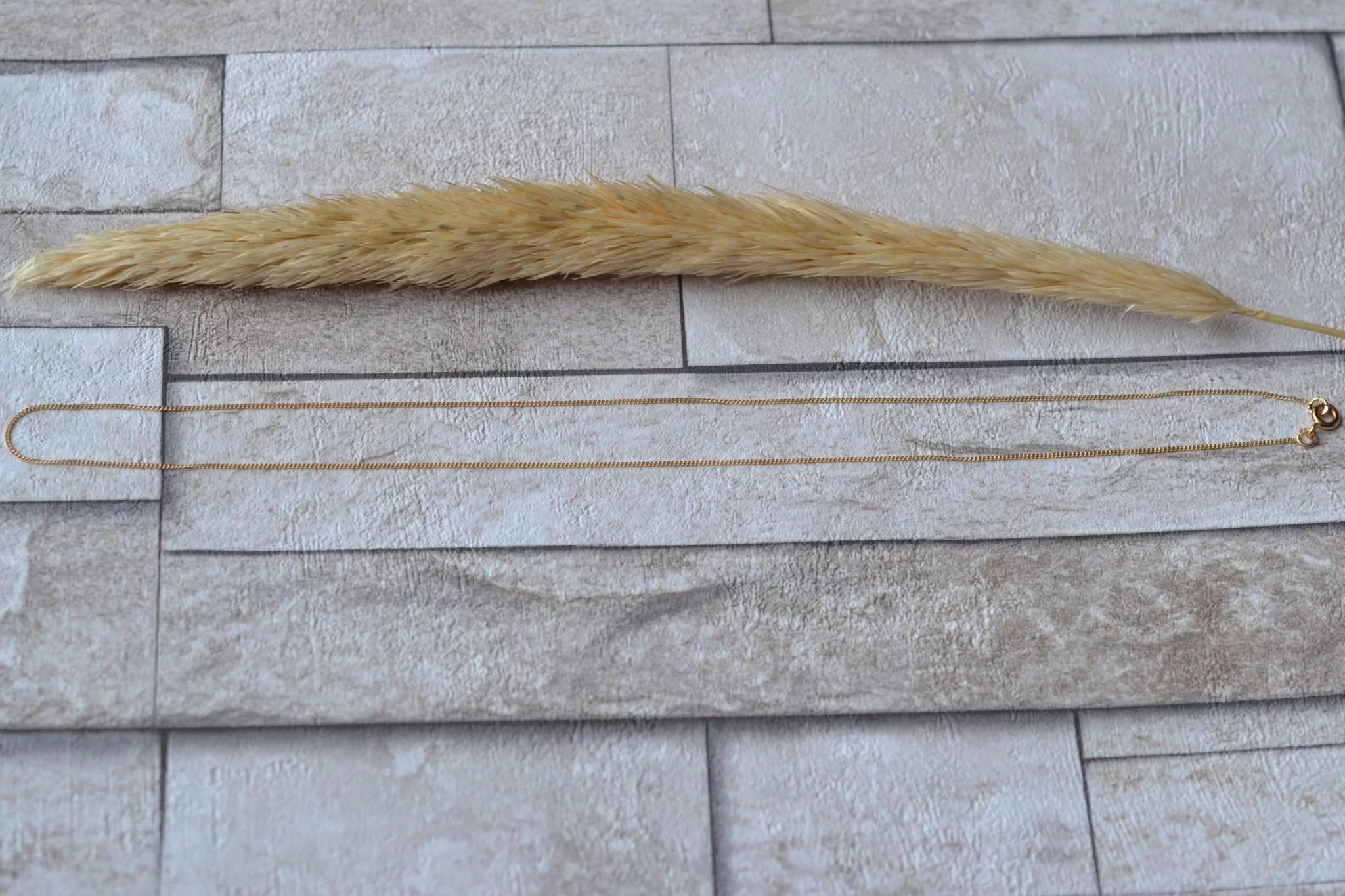 Chaine 43cm (maille Gourmette)