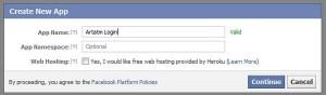 Applicazioni facebook PHP, Javascript SDK