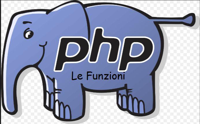 Le funzioni in PHP