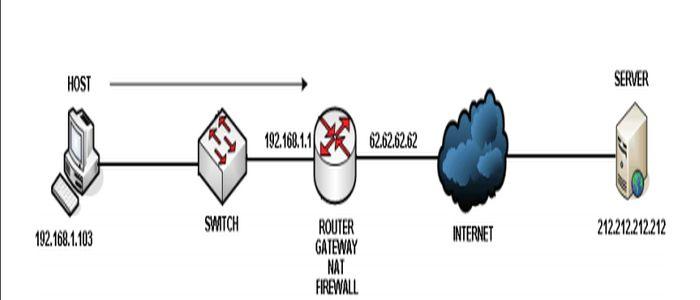 NAT traduzione fra IP pubblico e privato di un DNS