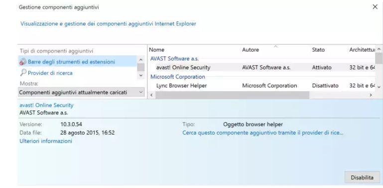 Rimuovere Adware da Microsoft Edge IE