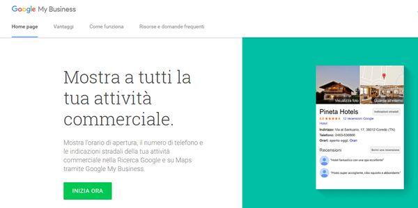 Google My Business assistenza cos'è, gratuito